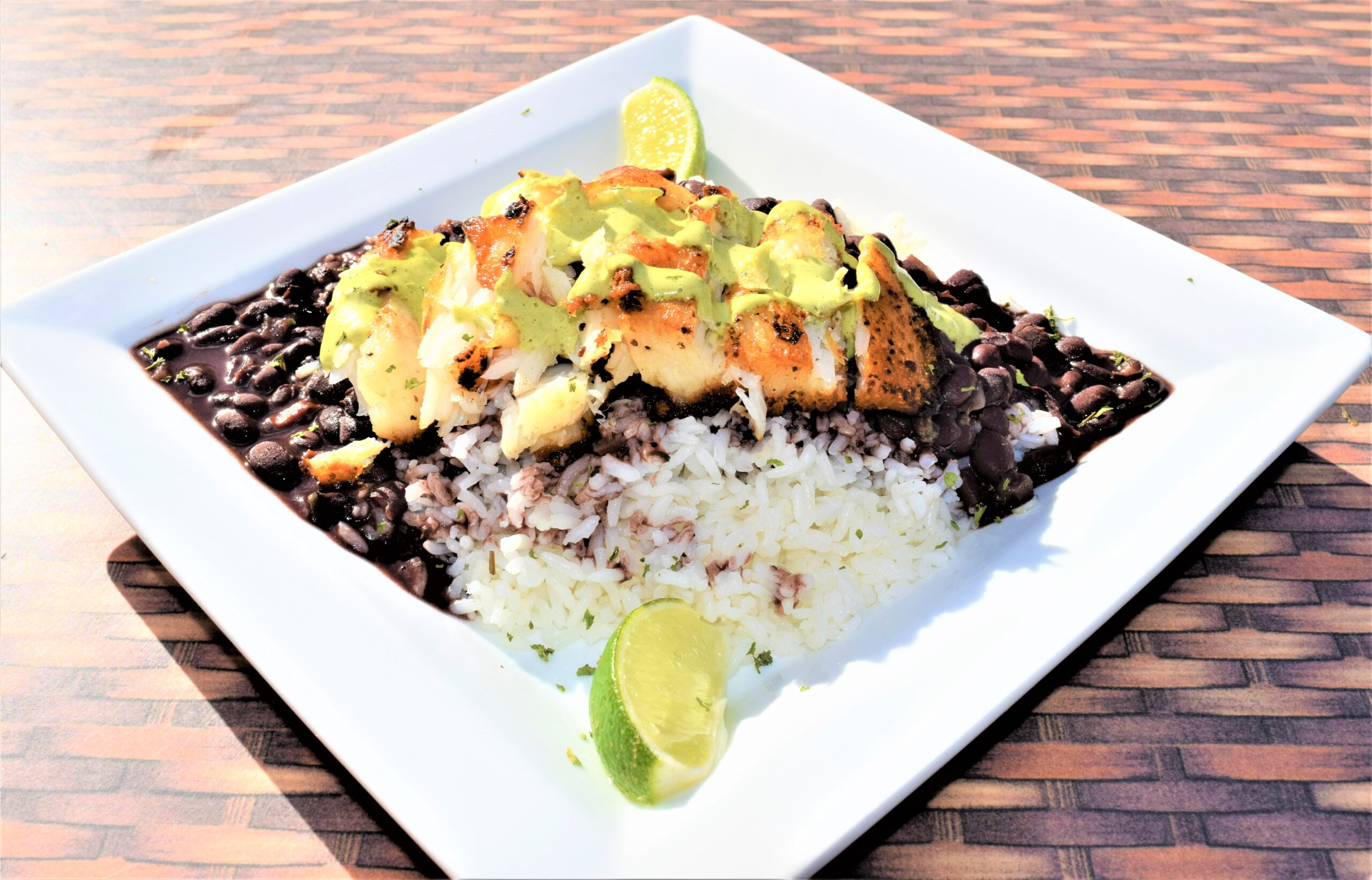 Corvina grilled small plate